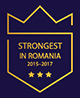 strongest in romania