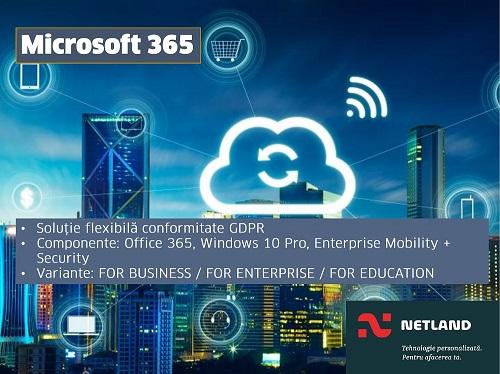 Solutii Microsoft GDPR Netland
